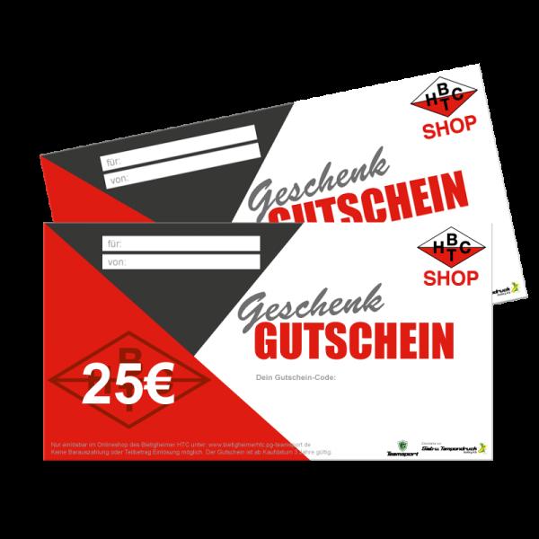 25,00€ Geschenk Gutschein