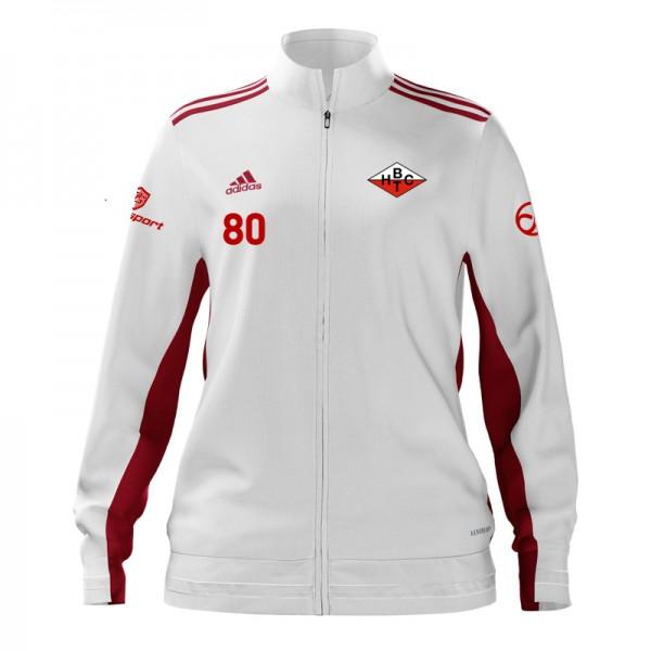 BHTC Damen Präsentation-Trainingsjacke / Weiß