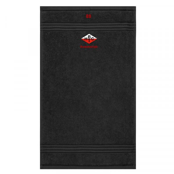 BHTC Handtuch / Größe: 100x50 / schwarz