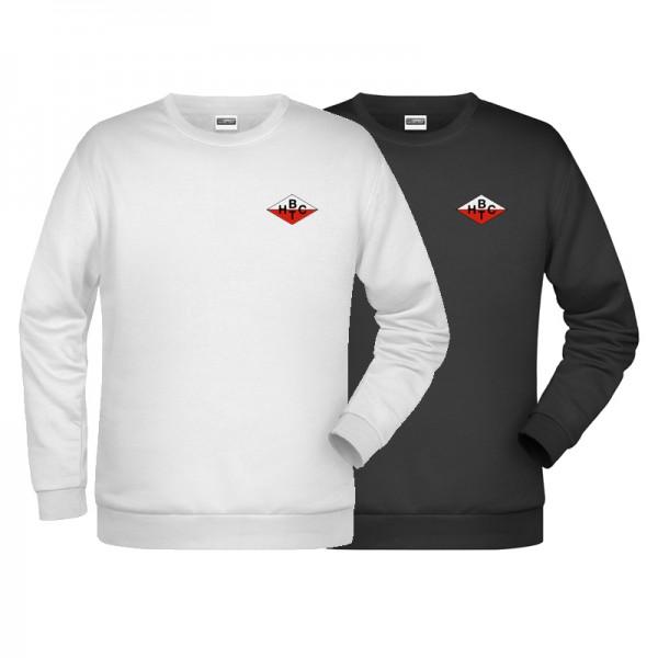 Sweater / Herren / weiß oder schwarz