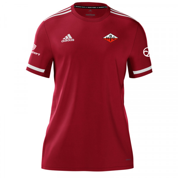 BHTC Fan-Shirt #redwhitefight / Rot / Damen