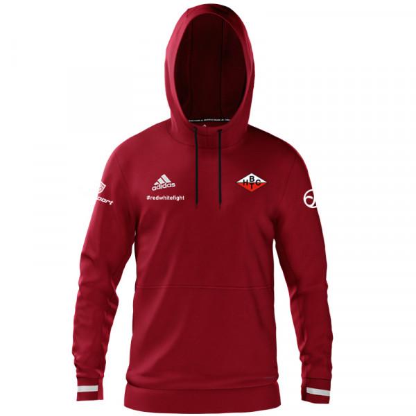 BHTC Damen Trainings-Hoody #redwhitefight / Rot